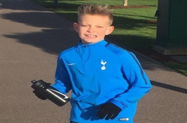 FITC Academy youth player signing for Tottenham Hotspur